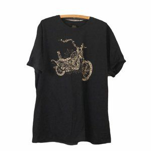 Lucky Brand Ride To Live Motorcycle T-shirt XXL